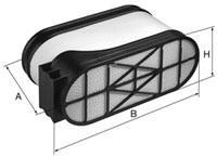 Фильтр воздушный Mann-Filter CP33540CP33540