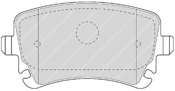 Колодки тормозные дисковые Premier Ferodo FDB1655FDB1655