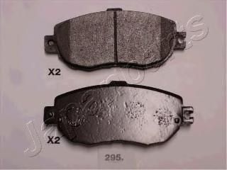 Колодки тормозные дисковые Japanparts PA295AFPA295AF