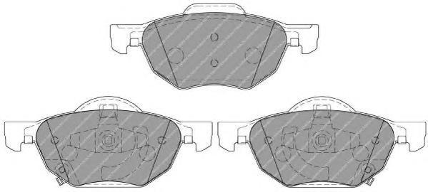 Колодки тормозные дисковые Premier Ferodo FDB1704FDB1704