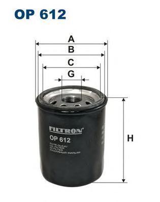 Фильтр масляный Filtron OP612OP612