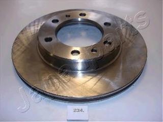Диск тормозной Japanparts DI234 комплект 2 шт диск тормозной japanparts dp231 комплект 2 шт