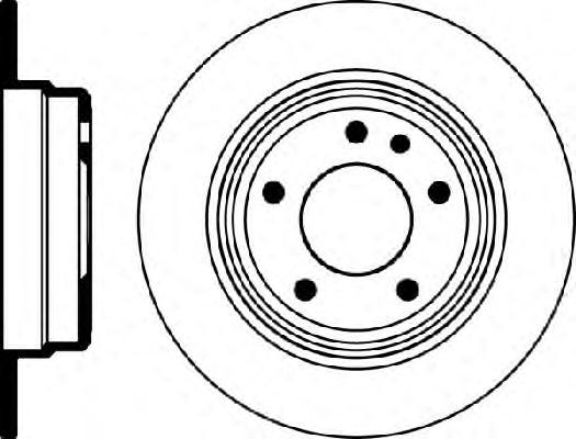 Диск тормозной Ate 24011001171 комплект 2 шт24011001171