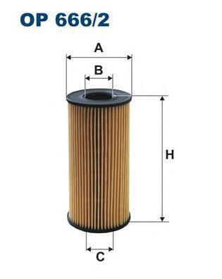 Фильтр масляный Filtron OE6662OE6662
