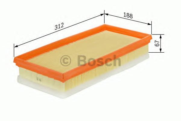 Фильтр воздушный Bosch F026400007F026400007