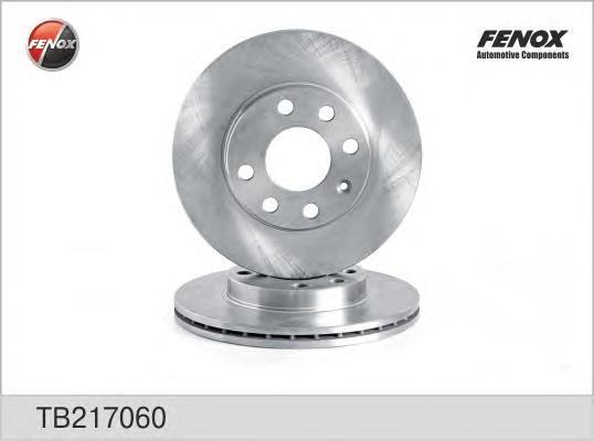 Диск тормозной Fenox TB217060 комплект 2 штTB217060
