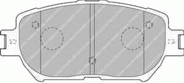 Ferodo Колодки тормозные дисковые Premier. FDB1620FDB1620