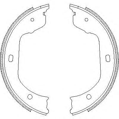 Колодки тормозные дисковые Remsa, комплект. 474000474000