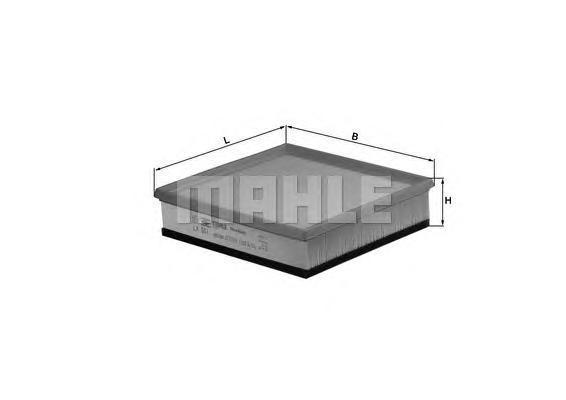 Фильтр воздушный Mahle/Knecht LX501LX501