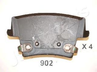 Колодки тормозные дисковые Japanparts PP902AFPP902AF