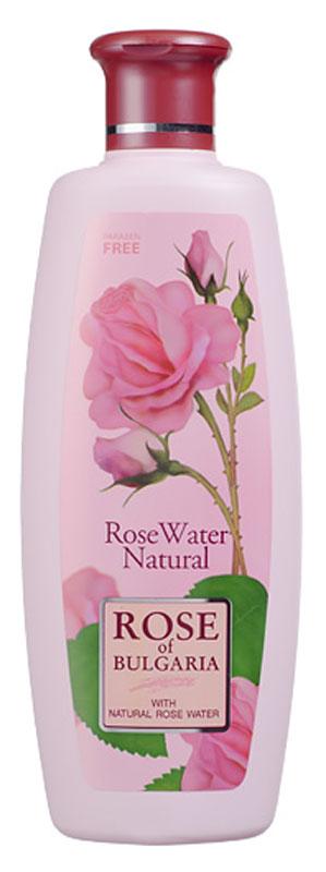 Rose of Bulgaria Розовая вода, натуральная, 330 мл62637Натуральная розовая вода - это продукт, полученный посредством дистилляции лепестков знаменитой болгарской розы Rosa Damascena. Не содержит химических консервантов. Благодаря большому содержанию эфирного розового масла вода естественно консервирована.Розовая вода рекомендована как освежающее средство, а также для очищения любого типа кожи. Тонизирует, увлажняет и успокаивает раздраженную и чувствительную кожу. Имеет ароматизирующее и освежающее действие. Регулярное применение розовой воды поможет сохранить кожу молодой и красивой.Запах роз придает человеку жизненные силы, улучшает эмоциональный фон. Благодаря естественной пароводяной обработке, вся сила аромата лепестков роз сохраняется в розовой воде. Оптимальная концентрация эфирного масла обеспечивает эмульсии приятный нежный аромат, гарантирует целебные свойства и не требует введения консервантов. Розовая вода была излюбленным косметическим средством Клеопатры, Нефертити, Афродиты. Коже лица розовая вода придает упругость, эластичность, матовость. Она освежает и тонизирует чувствительную кожу.Запах розовой воды также обладает успокаивающими свойствами, благодаря чему приводит эмоциональное и психологическое состояние в покой. Розовая вода издревле считается мягким обезболивающим и сильным антидепрессантом. По этой причине в условиях ежедневных стрессов она все чаще используется для лечения. Кроме того, розовая вода благотворно влияет и на слизистую оболочку. Специалисты рекомендуют использовать розовую воду для промывания глаз при конъюнктивитах, воспалении и аллергии; для полоскания горла и полости рта при ангинах, диатезах, воспалении десен. При применении внутрь розовая вода благотворно влияет на слизистые оболочки желудка и кишечника, способствует растворению солей в почках и желчных протоках, эффективно действует при бронхитах и туберкулезе легких. Способ применения натуральной розовой водой: небольшое количество нанести на ватный тампон, аккуратно прот