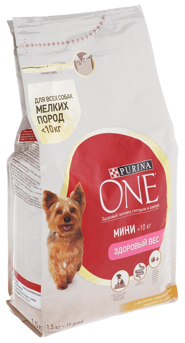 Корм сухой Purina One Мини Моя Собака…Любитель поесть, с индейкой и рисом, 1,5 кг57925Корм сухой Purina One Мини Моя Собака…Любитель поесть - это вкусное сочетание хрустящих крокетов и мягких кусочков с высоким содержанием индейки, содержит на 40% меньше жира, чем в корме для взрослых собак Purina One для снижения потребляемых калорий и поддержания оптимального веса. Товар сертифицирован.Уважаемые клиенты! Обращаем ваше внимание на то, что упаковка может иметь несколько видов дизайна. Поставка осуществляется в зависимости от наличия на складе.