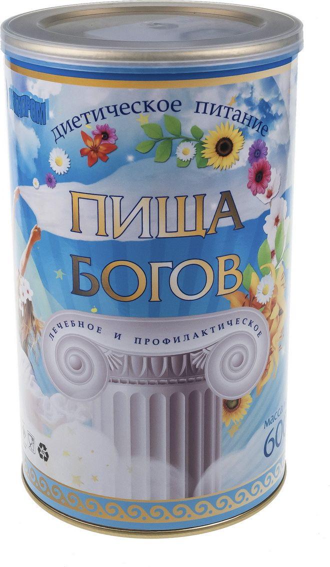 Пища богов Коктейль соево-белковый со вкусом клубники, 600 г