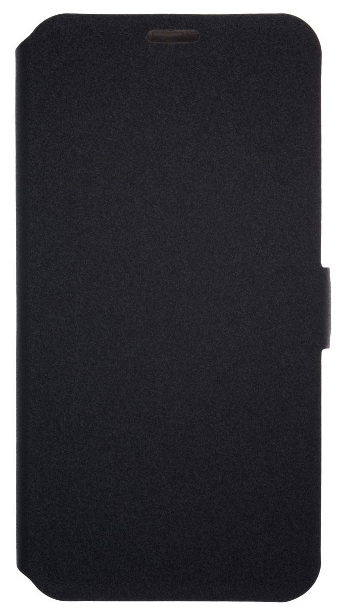 Prime Book чехол-книжка для LG Q6, Black2000000155005Чехол Prime Book для LG Q6 выполнен из высококачественного поликарбоната и экокожи. Он обеспечивает надежную защиту корпуса и экрана смартфона и надолго сохраняет его привлекательный внешний вид. Чехол также обеспечивает свободный доступ ко всем разъемам и клавишам устройства.