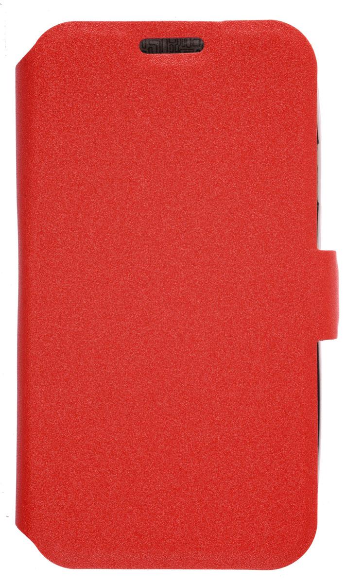 Prime Book чехол-книжка для Samsung Galaxy J1 mini , Red2000000155517Чехол Prime Book для Samsung Galaxy J1 miniвыполнен из высококачественного поликарбоната и экокожи. Он обеспечивает надежную защиту корпуса и экрана смартфона и надолго сохраняет его привлекательный внешний вид. Чехол также обеспечивает свободный доступ ко всем разъемам и клавишам устройства.