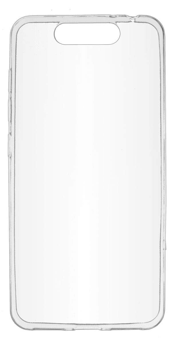 Skinbox Slim Silicone чехол-накладка для ZTE Blade V8, Transparent защитные стекла skinbox защитное стекло skinbox для zte blade q2 0 3mm 2 5d