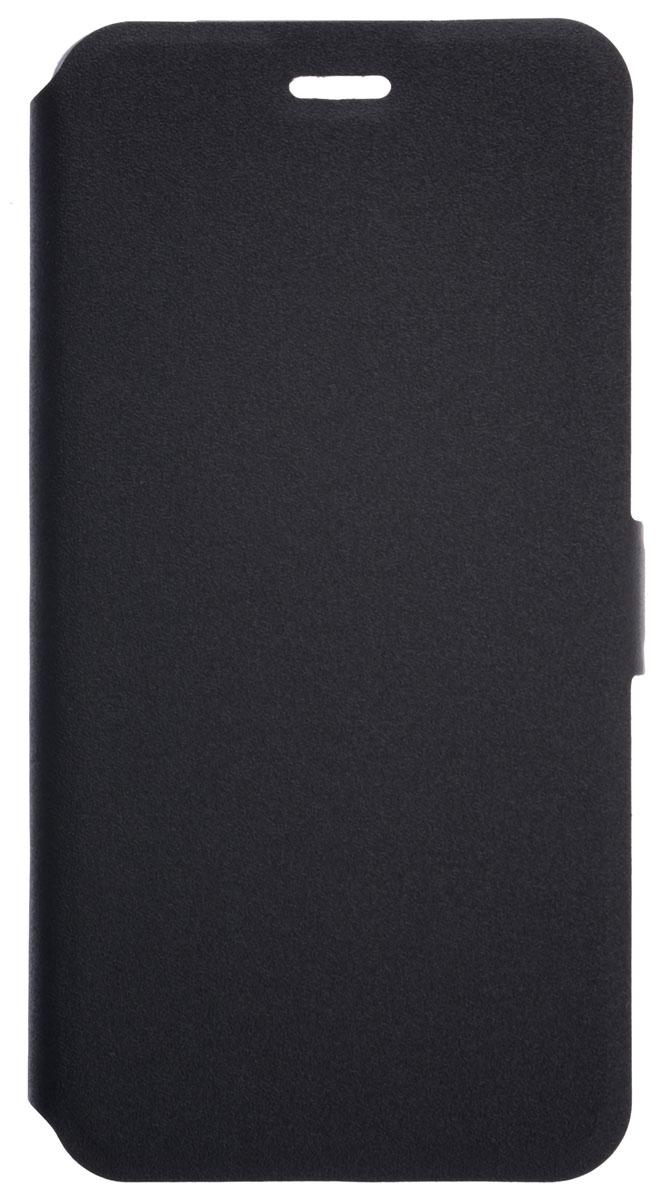 Prime Book чехол-книжка для ZTE Blade V8, Black2000000134130Чехол Prime Book для ZTE Blade V8 выполнен из высококачественного поликарбоната и экокожи. Он обеспечивает надежную защиту корпуса и экрана смартфона и надолго сохраняет его привлекательный внешний вид. Чехол также обеспечивает свободный доступ ко всем разъемам и клавишам устройства.
