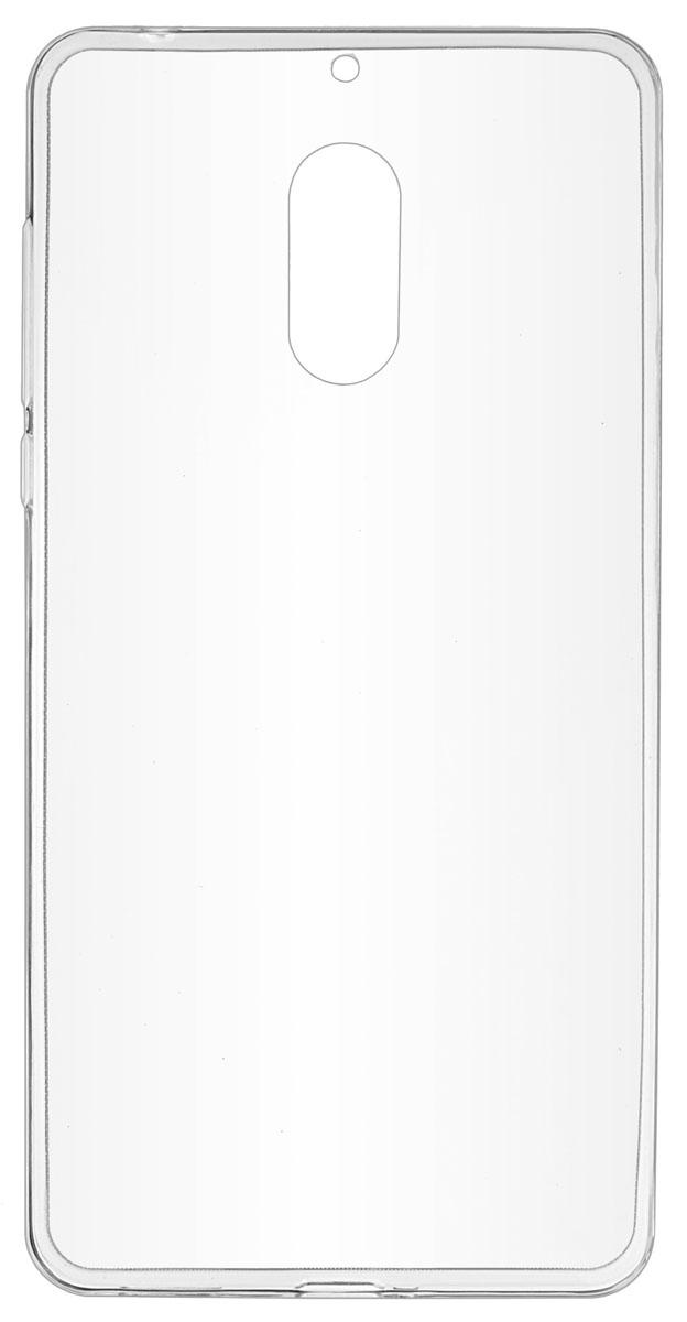 Skinbox Slim Silicone накладка для Nokia 6, Transparent накладка защитная skinbox nokia 5