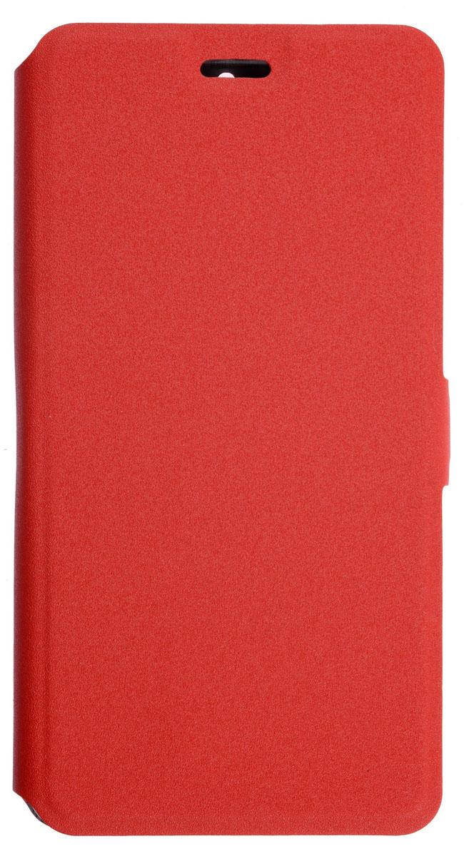 Prime Book чехол-книжка для Nokia 5, Red2000000138145Чехол Prime Book для Nokia 5 выполнен из высококачественного поликарбоната и экокожи. Он обеспечивает надежную защиту корпуса и экрана смартфона и надолго сохраняет его привлекательный внешний вид. Чехол также обеспечивает свободный доступ ко всем разъемам и клавишам устройства.
