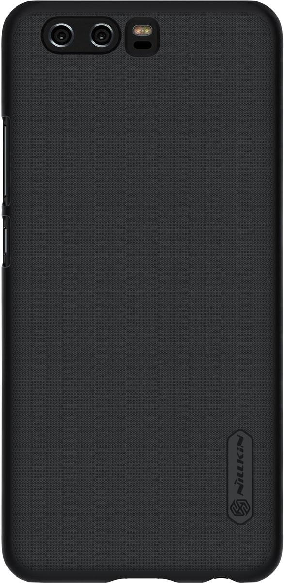 Nillkin Super Frosted накладка для Huawei P10, Black2000000134710Накладка Super Frosted Shield для телефона Huawei P10