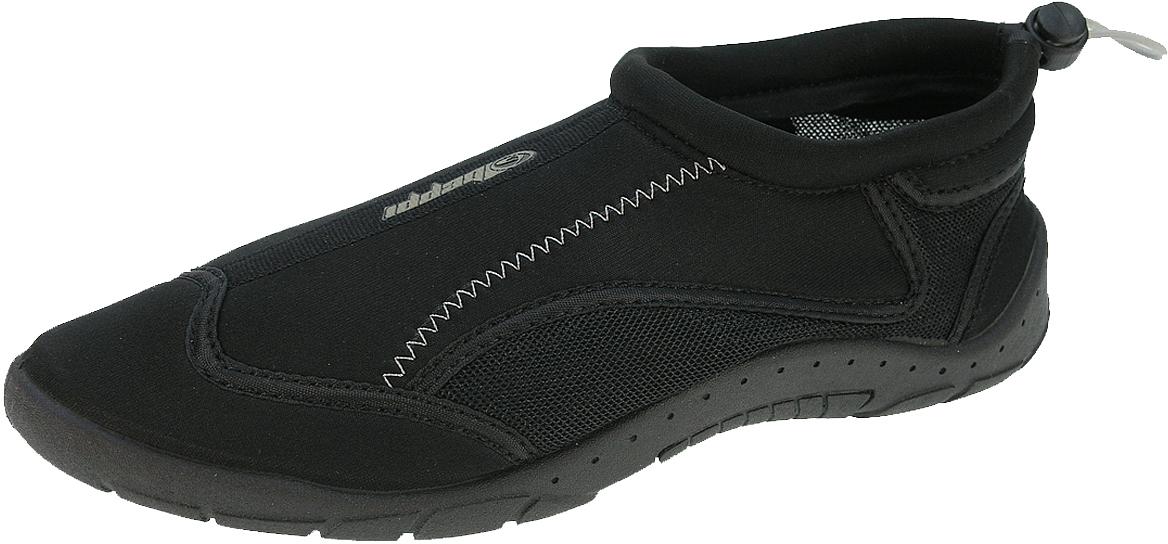 Обувь для кораллов мужская Beppi, цвет: черный. 2156421. Размер 402156421Мужская обувь для кораллов от Beppi предназначена для пляжного отдыха, плавания в открытой воде, а также для любых видов водного спорта. Модель выполнена из синтетического материала, объем регулируется кулиской со стоппером. Резиновая подошва обеспечивает сцепление с любой поверхностью, защищает ступни ног при хождении по каменистому дну, а также от горячего песка при хождении по пляжу. Такая обувь не только защитит ваши ноги, но обеспечит комфорт.