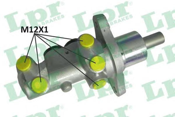 Колодки тормозные барабанные LPR / AP 10731073
