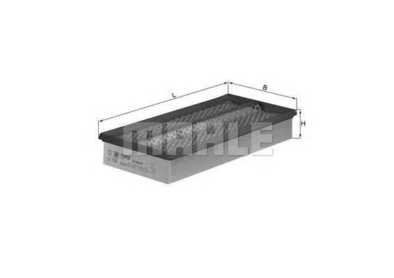Фильтр воздушный Mahle/Knecht LX536LX536