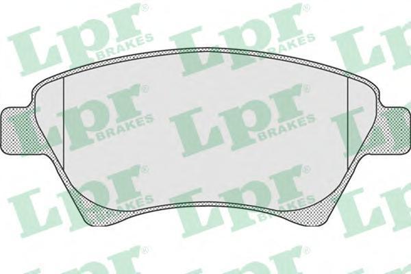 Колодки тормозные передние LPR / AP 05P91105P911