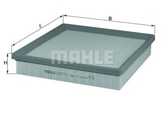 Фильтр воздушный Mahle/Knecht LX20773LX20773