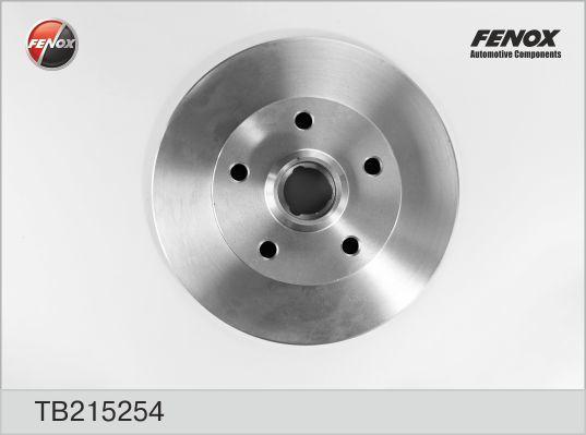 Диск тормозной Fenox TB215254 комплект 2 штTB215254