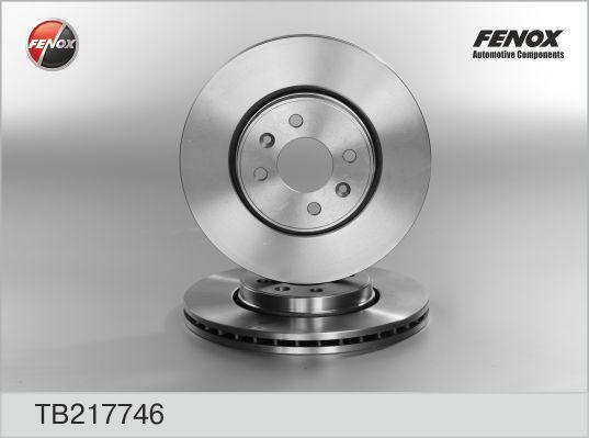 Диск тормозной Fenox TB217746 комплект 2 штTB217746