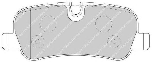 Колодки тормозные дисковые Premier Ferodo FDB1613FDB1613