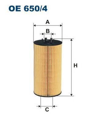 Фильтр масляный Filtron OE6504OE6504