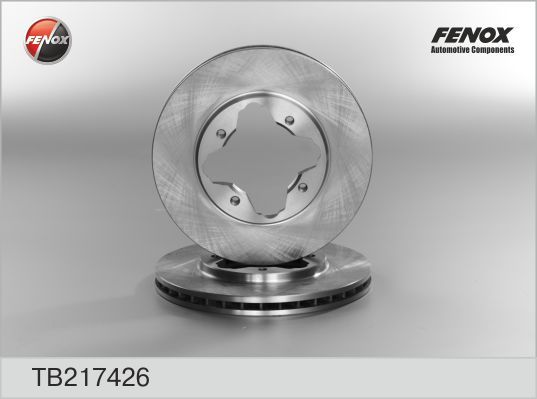 Диск тормозной Fenox TB217426 комплект 2 штTB217426