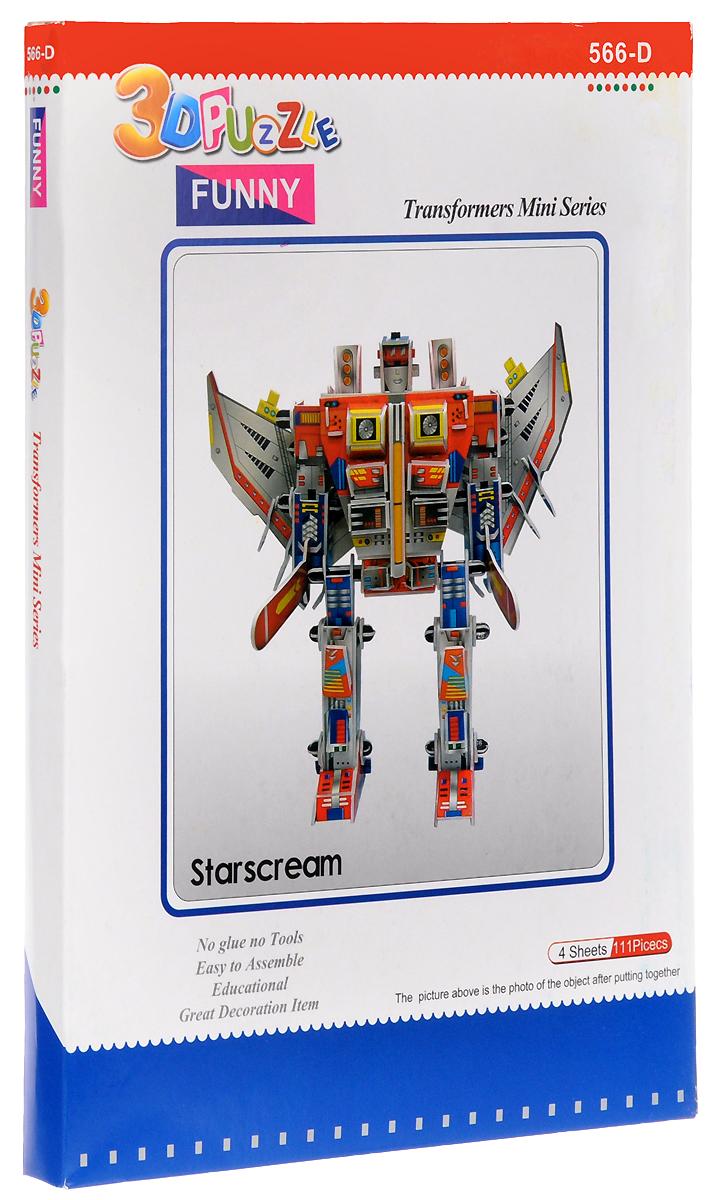 Funny 3D Пазл Робот Космического Патруля