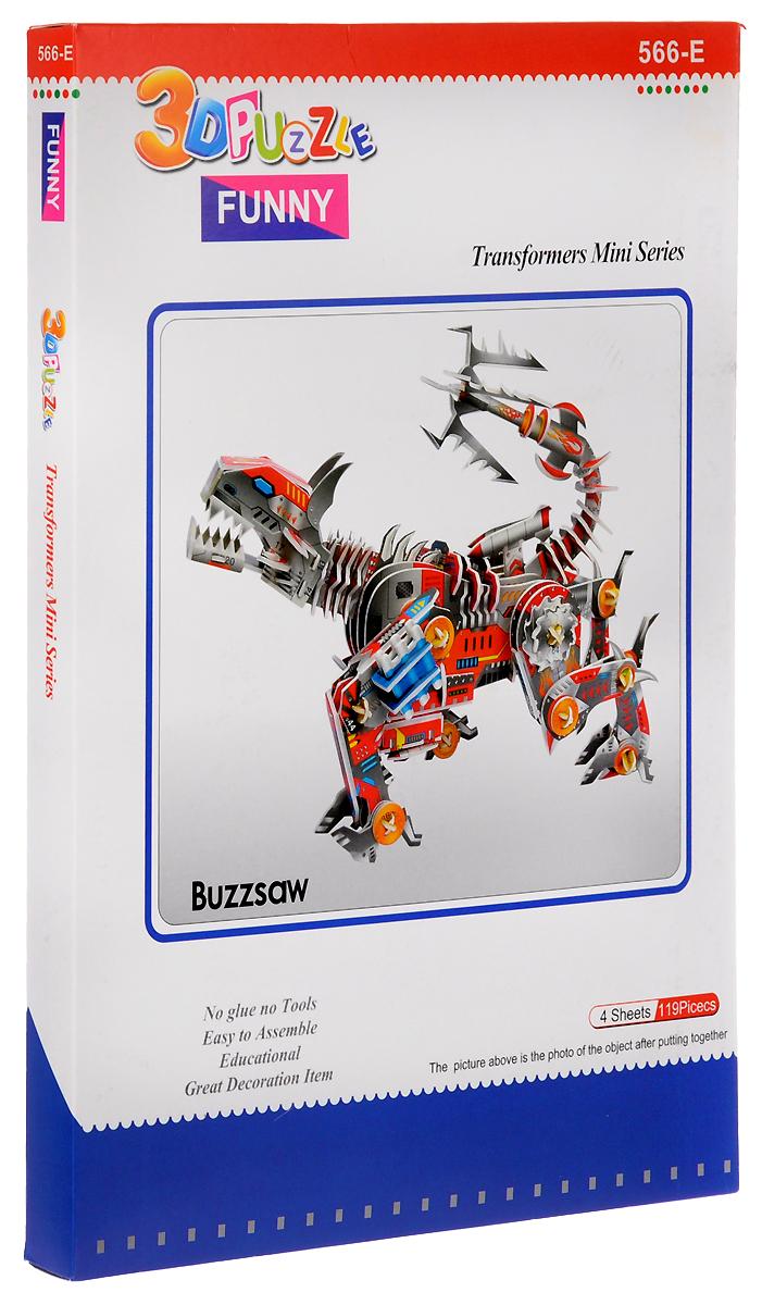 Funny 3D Пазл Робот Атакующая Рысь