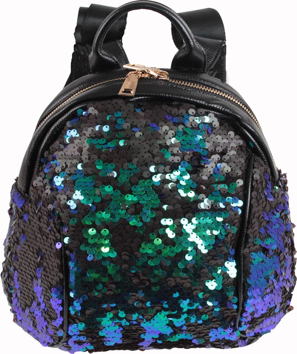 Рюкзак женский Flioraj, цвет: зеленый. 321-8 рюкзак divalli divalli mp002xw0f5e6
