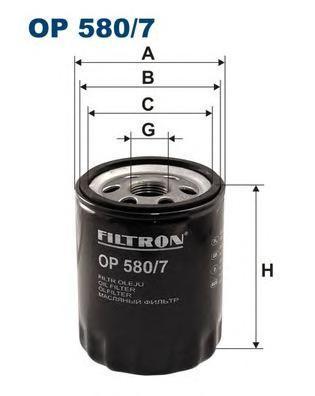 Фильтр масляный Filtron OP5807OP5807