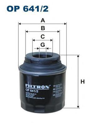 Фильтр масляный Filtron. OP6412OP6412