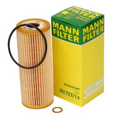 Масляный фильтроэлемент без металлических частейMann-Filter HU7271XHU7271X