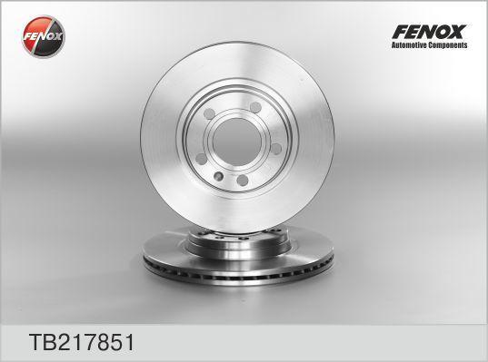 Диск тормозной Fenox TB217851TB217851