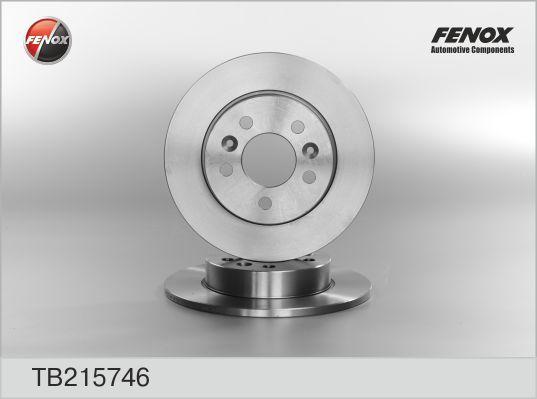 Диск тормозной Fenox TB215746 комплект 2 штTB215746