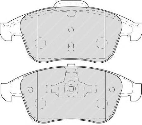 Колодки тормозные дисковые Premier Ferodo FDB4249FDB4249
