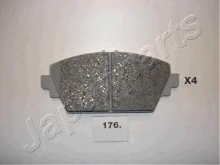 Колодки тормозные дисковые Japanparts PA176AFPA176AF