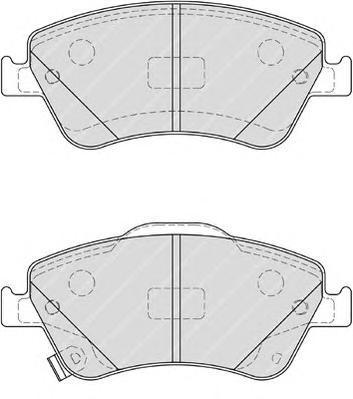 Колодки тормозные дисковые Premier Ferodo FDB4046FDB4046