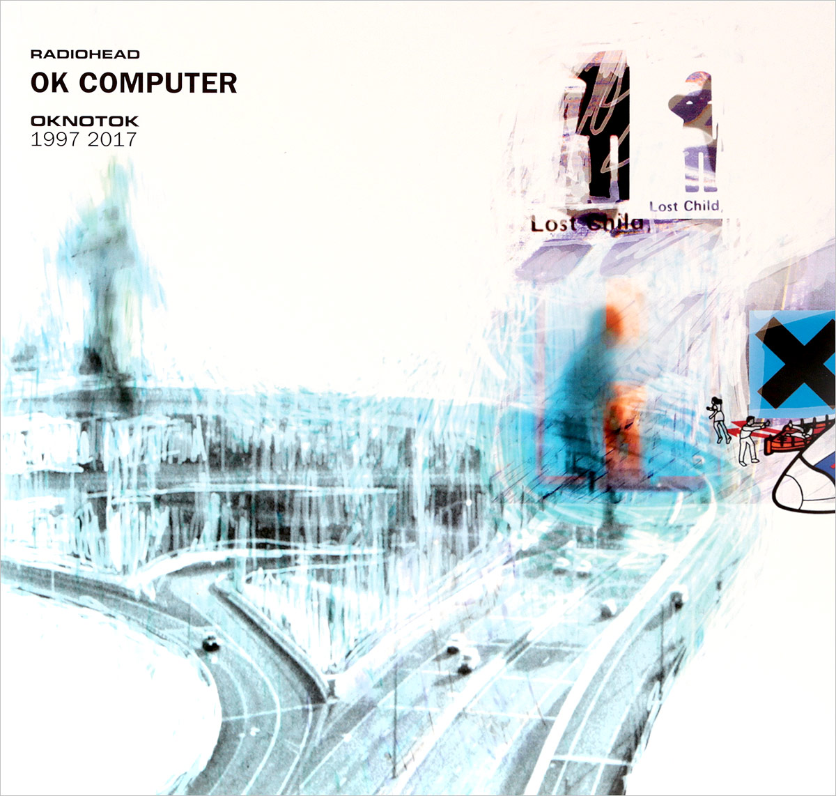 Zakazat.ru Radiohead. Ok Computer Oknotok 1997-2017 (3 LP Blue Vinyl)