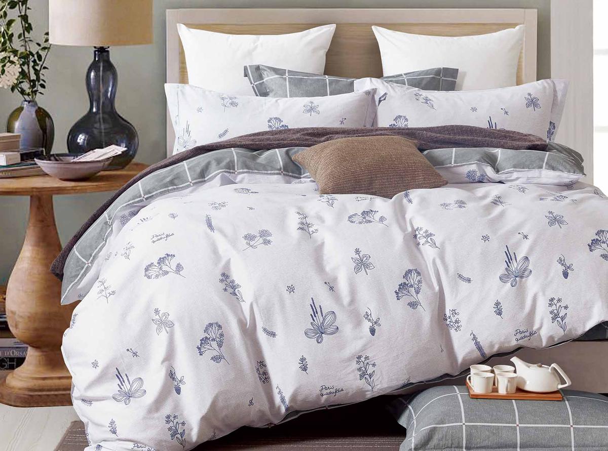 Комплект белья Soft Line, семейный, наволочки 50x70. 1054310543Роскошный комплект постельного белья Soft Line выполнен из качественного плотного сатина и украшен оригинальным рисунком. Комплект состоит из двух пододеяльников, простыни и двух наволочек.Постельное белье Soft Line подобно облаку сочетает в себе плотность цвета и безграничную нежность фактуры. Это белье обладает волшебной практичностью, а потому оказываться на седьмом небе станет вашим привычным занятием.Доверьте заботу о качестве вашего сна высококачественному натуральному материалу.Сатин - это ткань из 100% натурального хлопка. Мягкость и нежность материала создает чувство комфорта и защищенности. Классический натуральный природный материал делает это постельное белье нежным, элегантным и приятным.