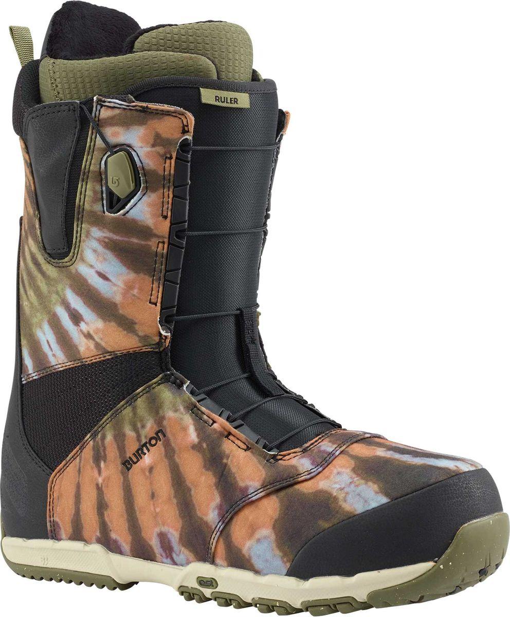 Ботинки для сноуборда Burton Ruler, цвет: черный. Длина стельки 28,5 см10439104022Парк или горные пики,не имеет значения.Благодаря проверенным временем конструкции,комфорту и производительности эти ботинки подняли уровень катания огромного количества райдеров.