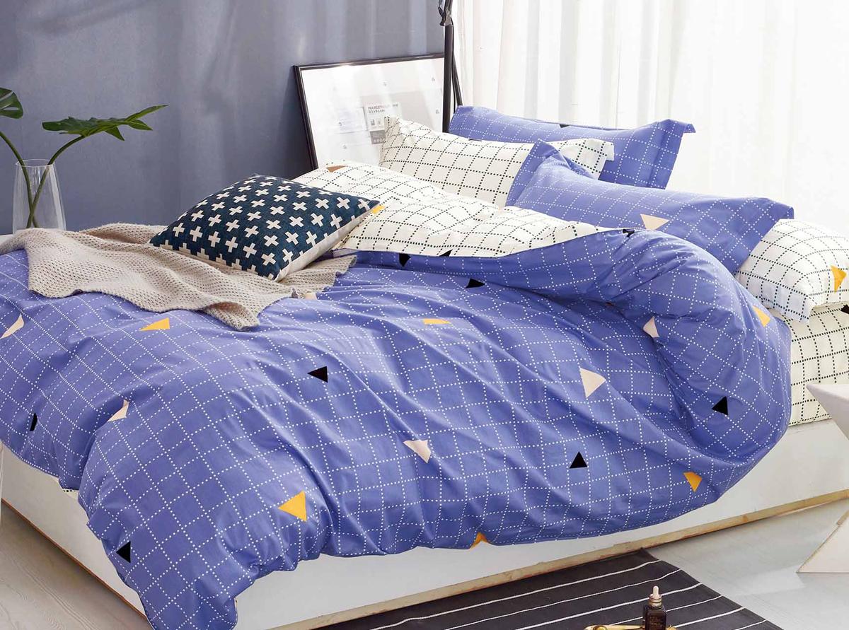 Комплект белья Soft Line, семейный, наволочки 50x70. 1058710587Роскошный комплект постельного белья Soft Line выполнен из качественного плотного сатина и украшен оригинальным рисунком. Комплект состоит из двух пододеяльников, простыни и двух наволочек. Постельное белье Soft Line подобно облаку сочетает в себе плотность цвета и безграничную нежность фактуры. Это белье обладает волшебной практичностью, а потому оказываться на седьмом небе станет вашим привычным занятием. Доверьте заботу о качестве вашего сна высококачественному натуральному материалу. Сатин - это ткань из 100% натурального хлопка. Мягкость и нежность материала создает чувство комфорта и защищенности. Классический натуральный природный материал делает это постельное белье нежным, элегантным и приятным. Советы по выбору постельного белья от блогера Ирины Соковых. Статья OZON Гид