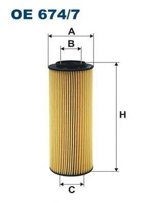 Фильтр масляный Filtron OE6747OE6747